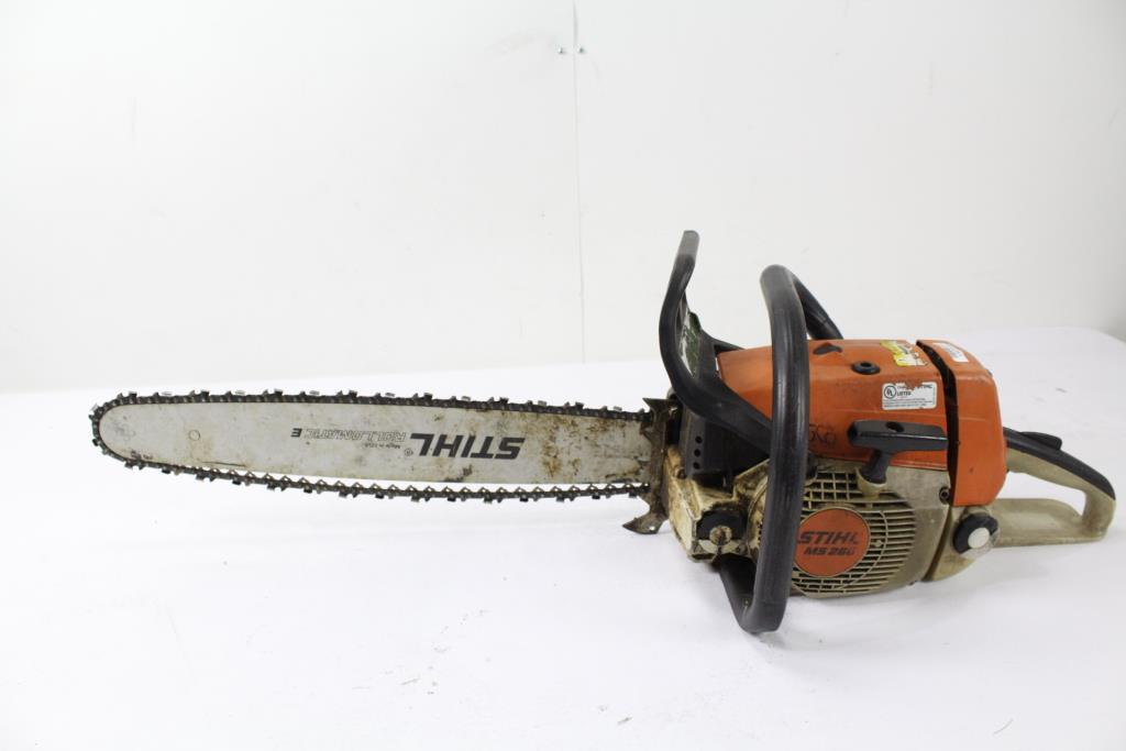Image 1 Of 3 Stihl Ms260 Chain Saw