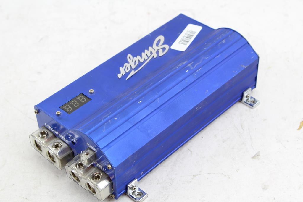 Stinger SPC5010 10 Farad Pro Digital Hybrid Capacitor