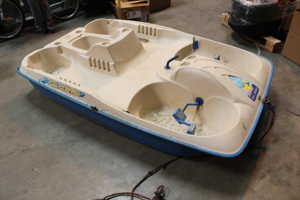 Sun Dolphin Sun Slider Plastic Paddle Boat Property Room