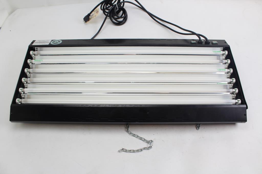 Sunlight Supply Tek Light T5 36 Inch 6 Lamp Flourescent Fixture