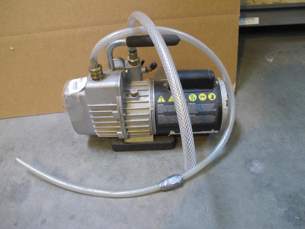 Superevac Vacuum Pump Property Room Wiring A