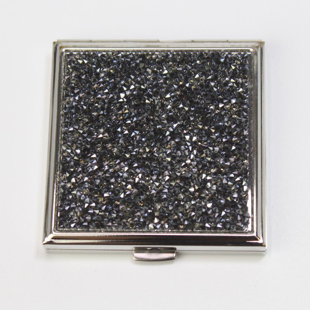 Swarovski Crystals Compact Mirror Case Property Room