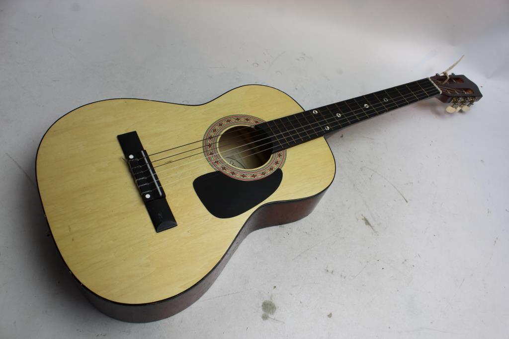 synsonics acoustic guitar property room. Black Bedroom Furniture Sets. Home Design Ideas