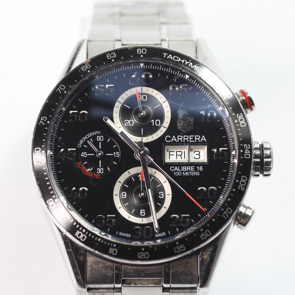 tag heuer carrera calibre 16 day date watch property room. Black Bedroom Furniture Sets. Home Design Ideas