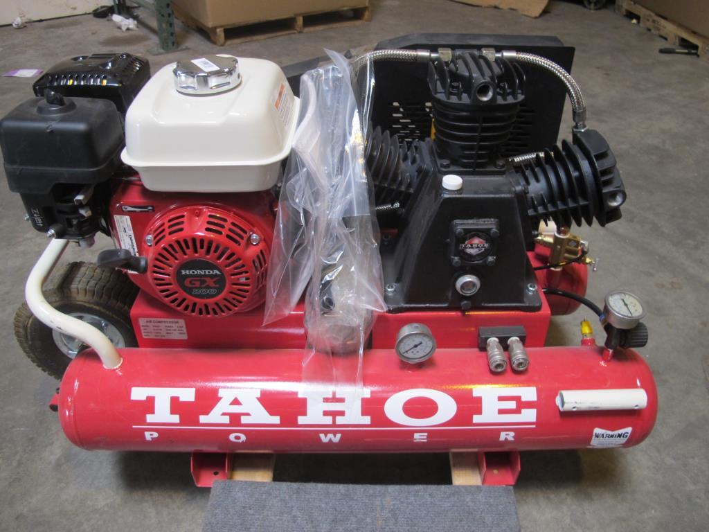 Tahoe 8 Gallon Gas Ed Air Compressor