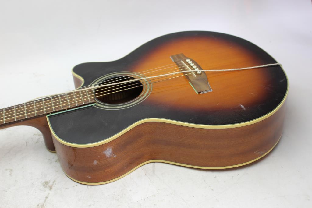 takamine g series acoustic guitar property room. Black Bedroom Furniture Sets. Home Design Ideas