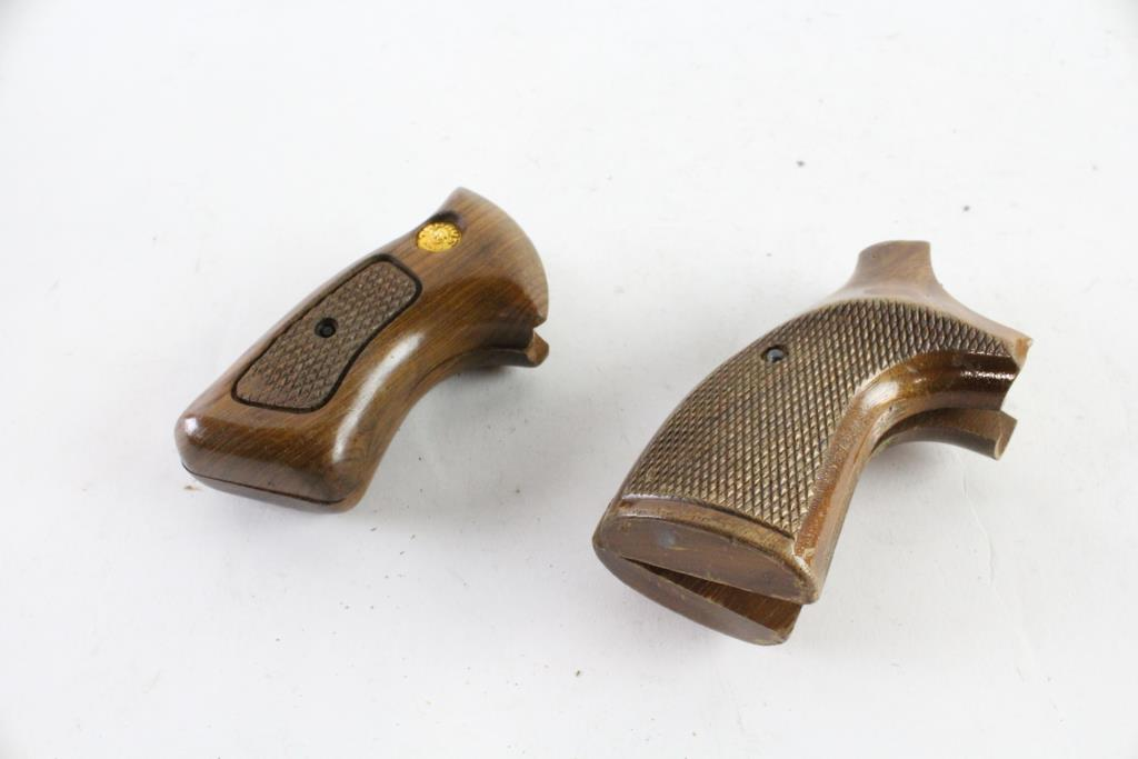 Taurus And Other Wood Pistol Grips, 2 Pieces | Property Room