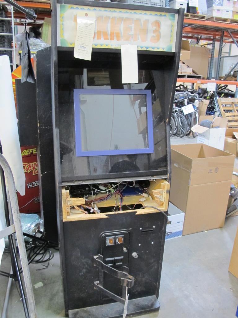 Tekken 3 Arcade Gaming Machine Property Room