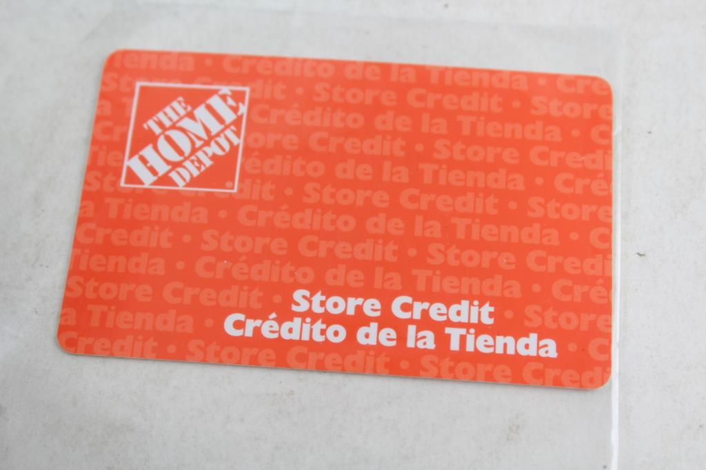 Home depot coupon card