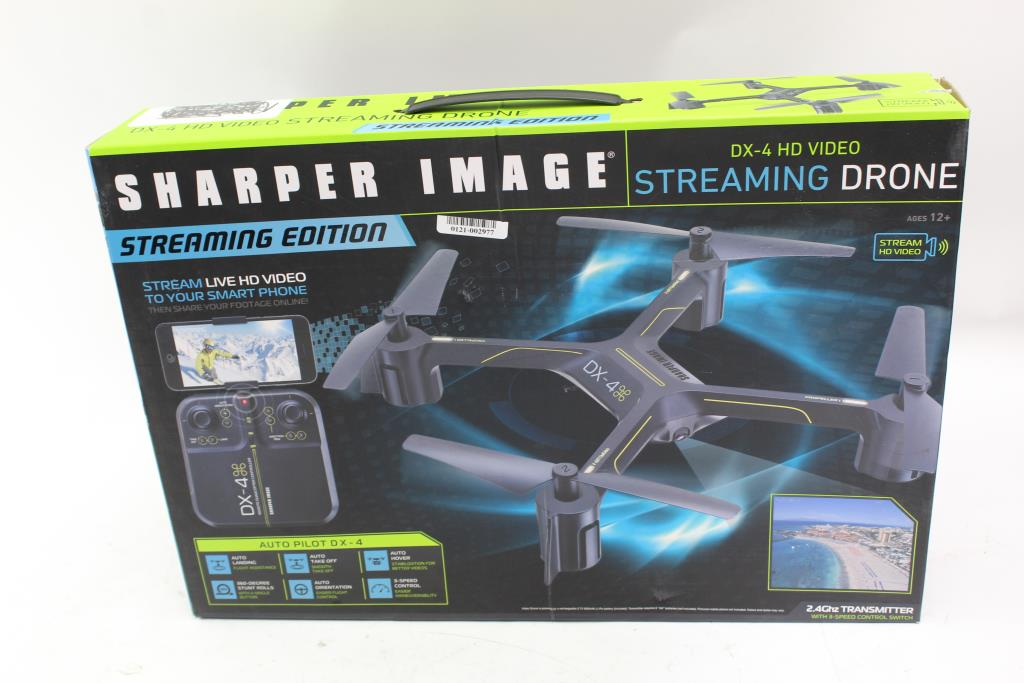The Sharper Image Drone Property Room