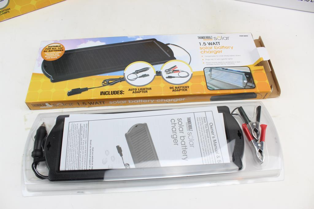 Thunderbolt Magnum Solar Accessories And More 12 Pieces Property Room