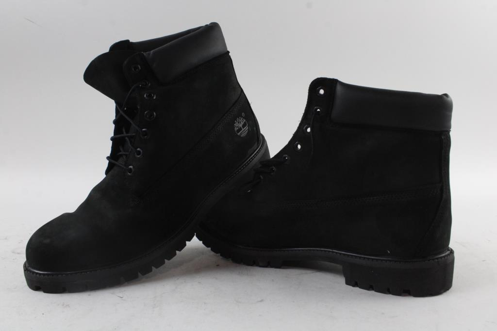 Timberland Men's Boots, Black, Size 14