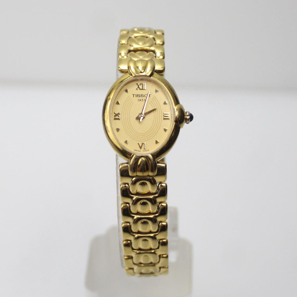 Tissot 1853 Gold Plated Women's Watch