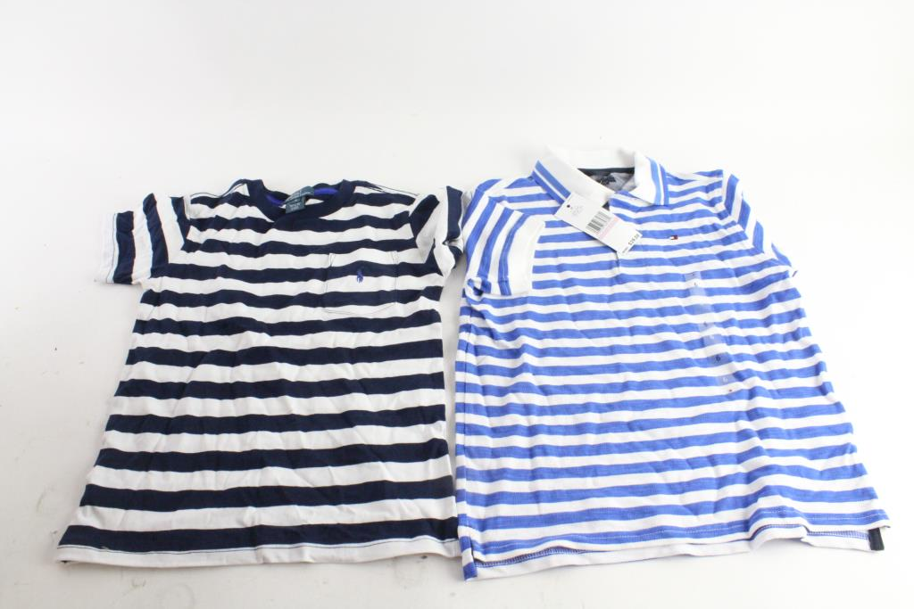 Hilfiger By Boys Polo And Lauren Ralph Shirts5 Tommy Pieces Y7gb6yfv