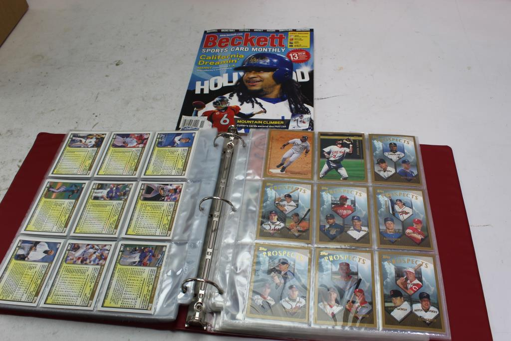 Topps Fleer And More Baseball Cards 100 Pieces Property Room