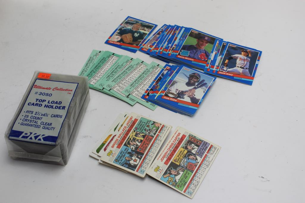 Topps Fleer Donruss More Assorted Baseball Cards 10 Pieces