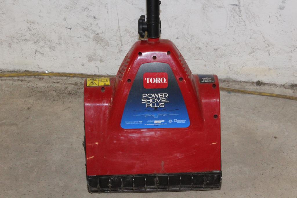 Toro Power Shovel Plus Electric Snowshovel Property Room