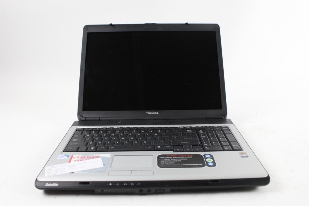 Toshiba Satellite L355-S7915 Bios Locked Laptop | Property Room