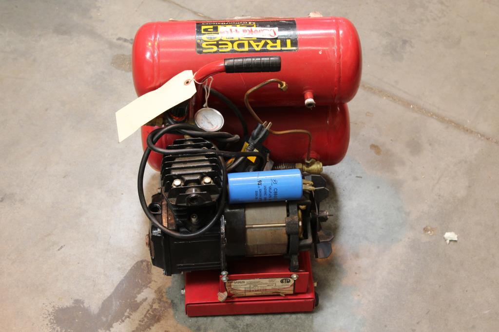 Trades Pro 830210 Air Compressor | Property Room