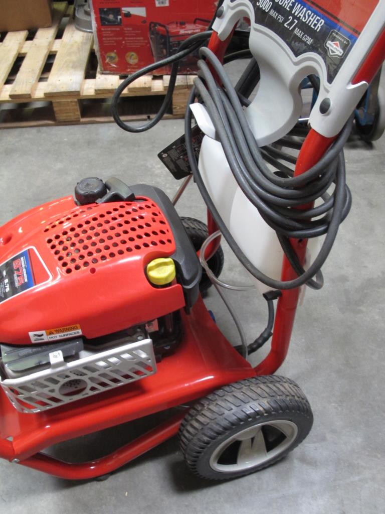 Car Audio Systems >> Troy-Bilt 020316 Pressure Washer | Property Room
