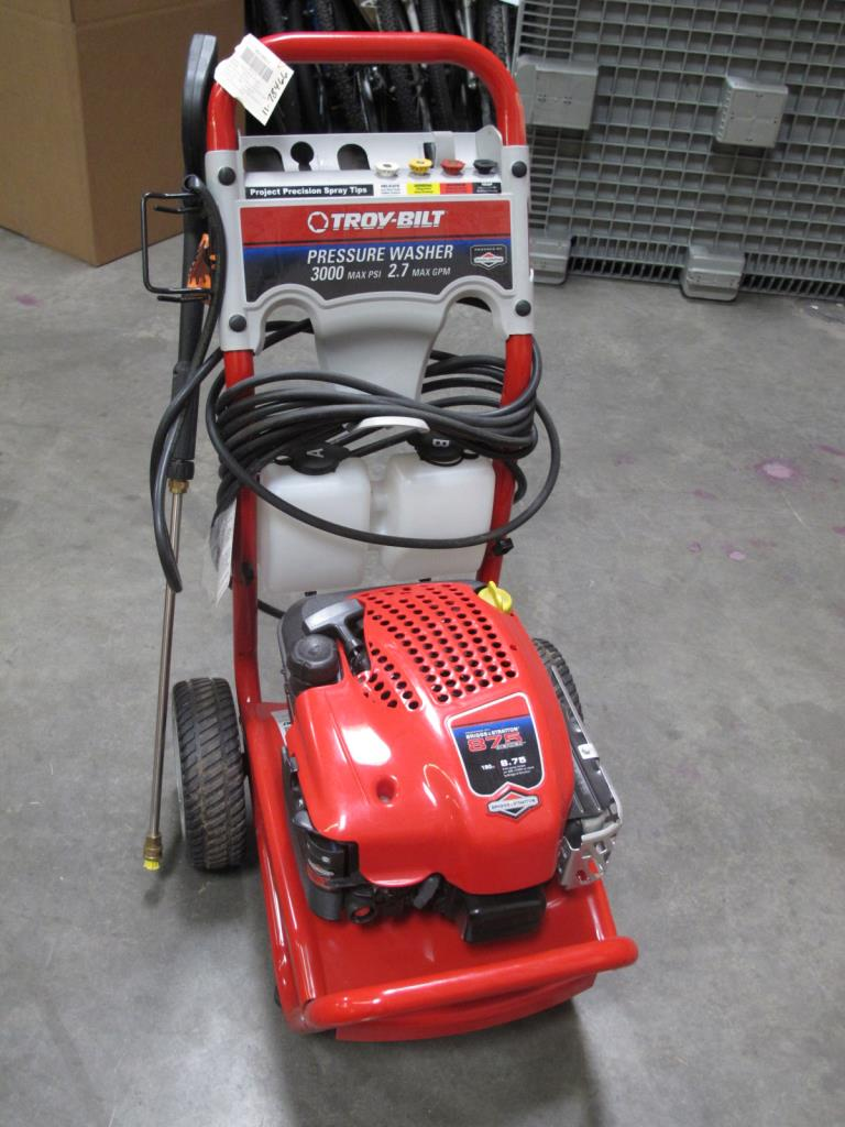 Troy Bilt 020316 Pressure Washer Property Room
