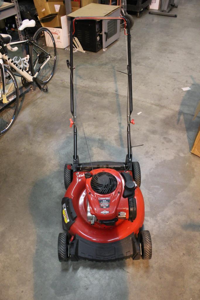 Troy-Bilt TB110 Lawn Mower With Mulching Capacity | Property