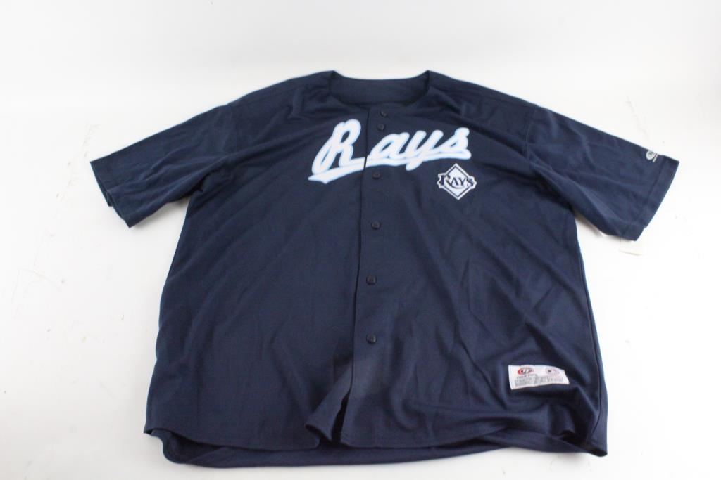 buy popular 45da8 7a118 True Fan MLB Genuine Merchandise Tampa Bay Rays Jersey, M ...
