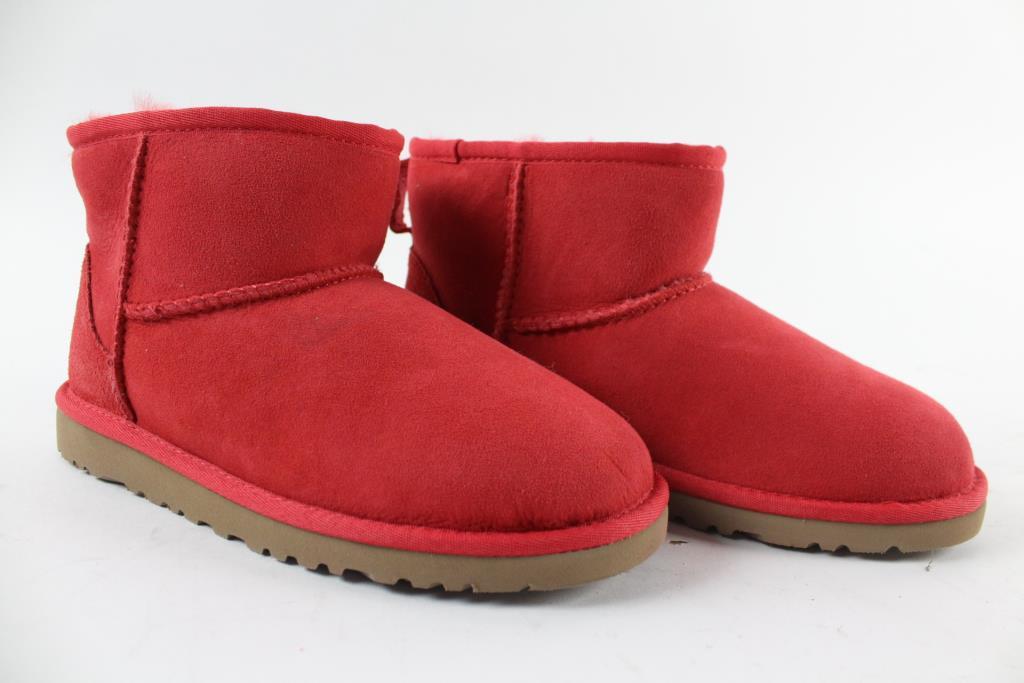 Ugg Australia Pink Lowcut Boots