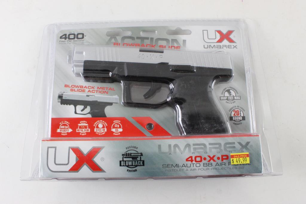 Umarex Blowback Slide 40XP CO2 Airsoft Gun | Property Room