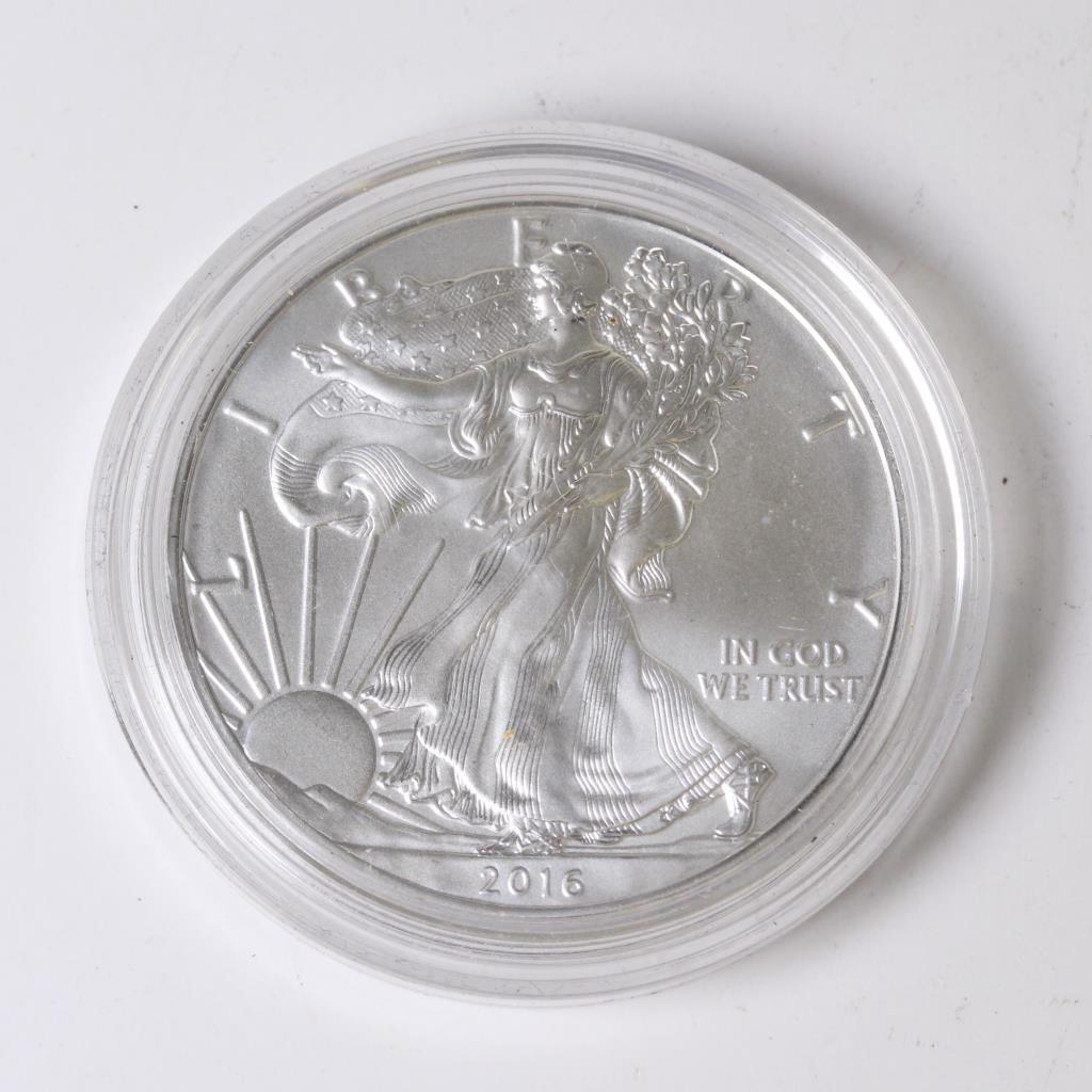 2016 Uncirculated American Silver Eagle