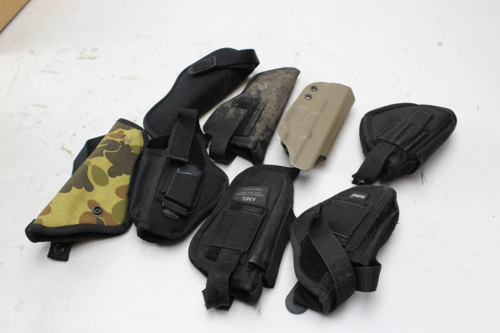 Uncle Mikes, Gun Mate + More Assorted Holster 8 Pieces