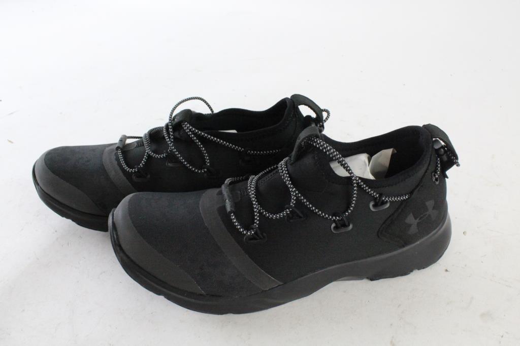 model# 3020134001 Under Armour BGS Drift 2X Camo Rflt Black Size 5Y
