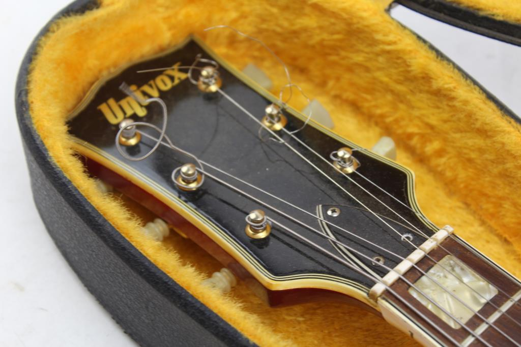 Serial univox numbers guitars OLP Guitars