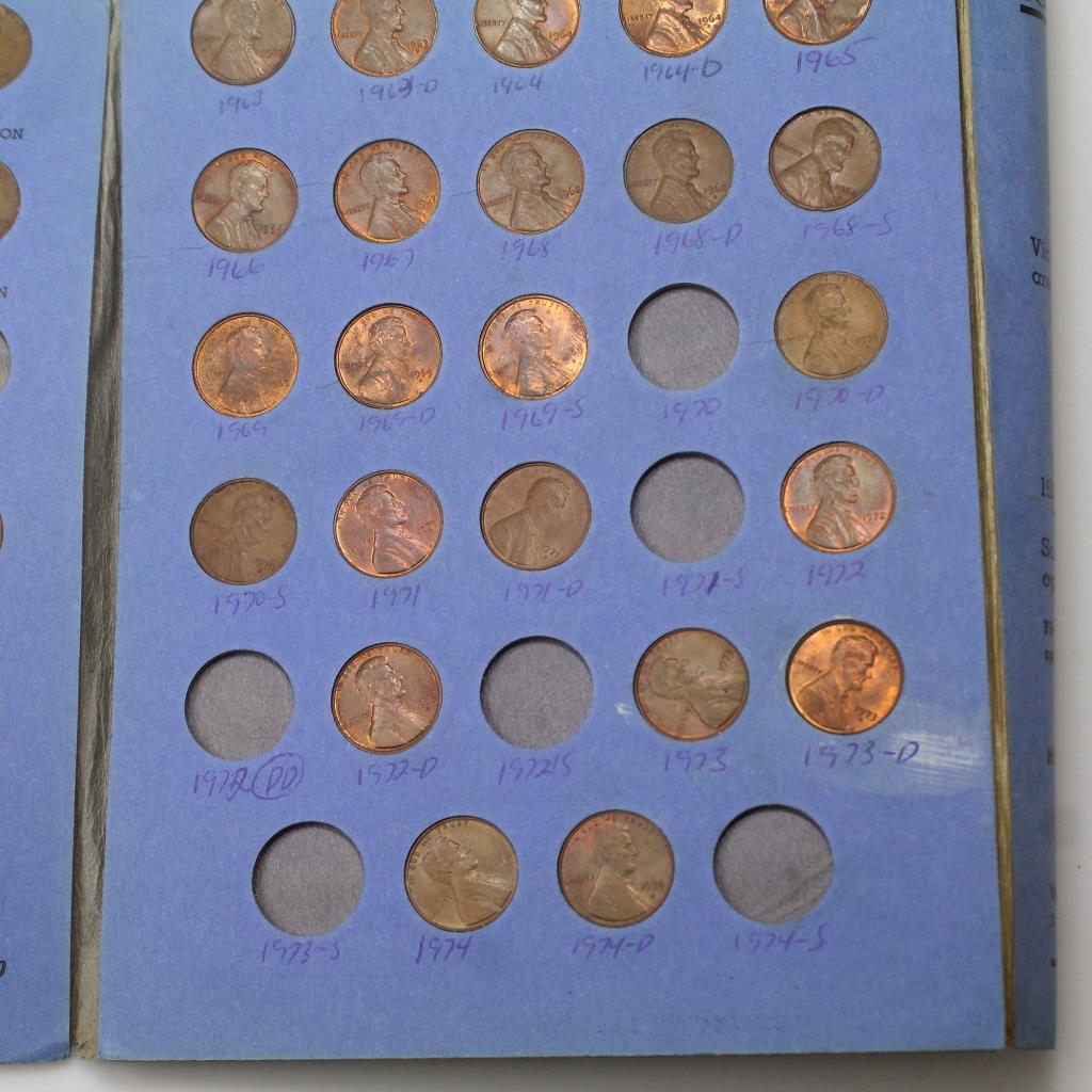 U S  Lincoln Head Cent Collection #2 Starting 1941