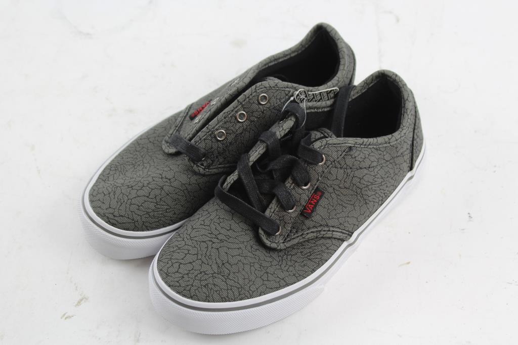 kids vans shoes size 3