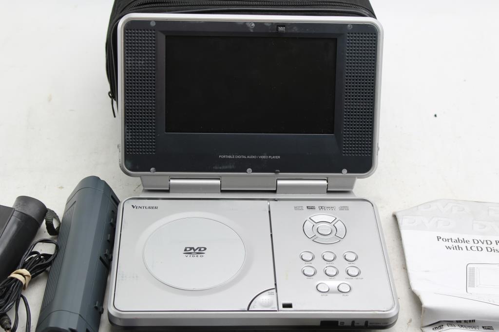 Venturer Portable Dvd Player Property Room