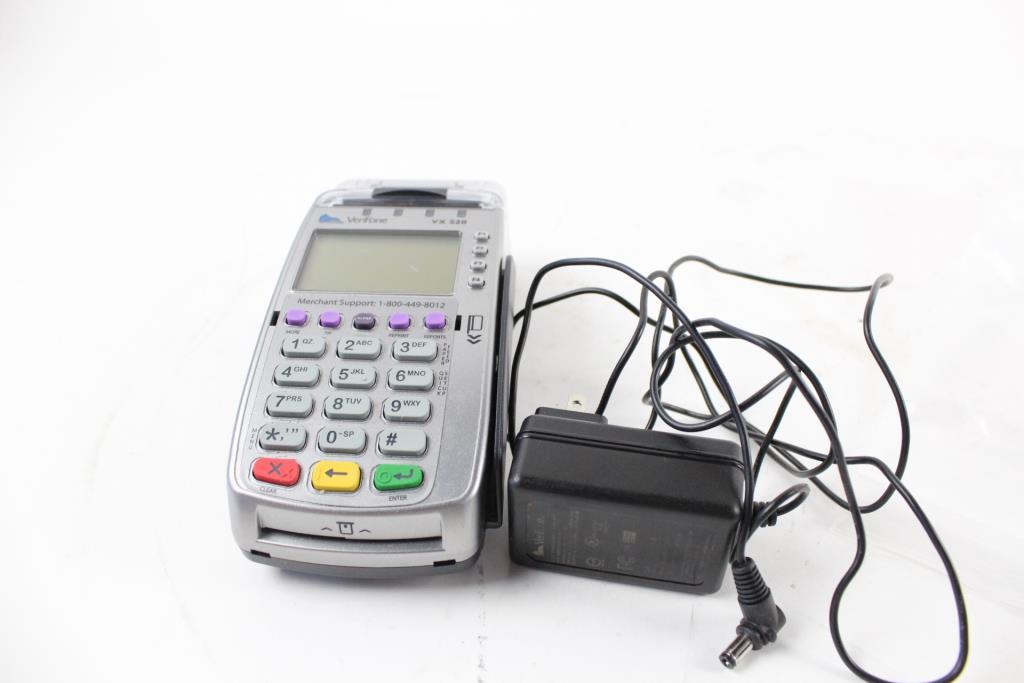 VeriFone VX520 Credit Card Reader   Property Room