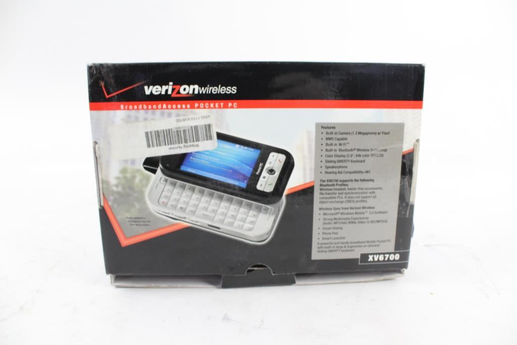 verizon xv6700 smartphone property room rh propertyroom com