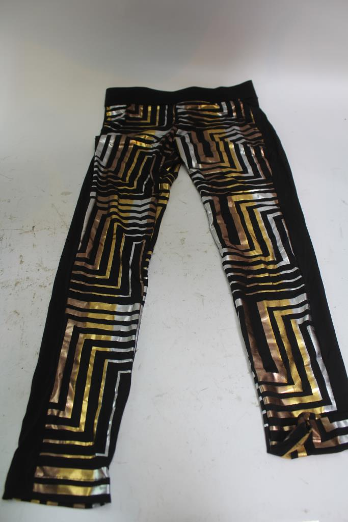Versace Bebe Womens Leggings Size M 8 2 Pieces Property Room
