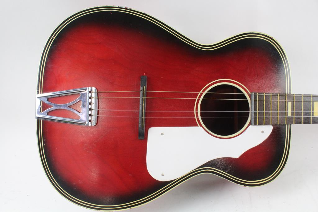 vintage 1960 39 s harmony stella acoustic guitar property room