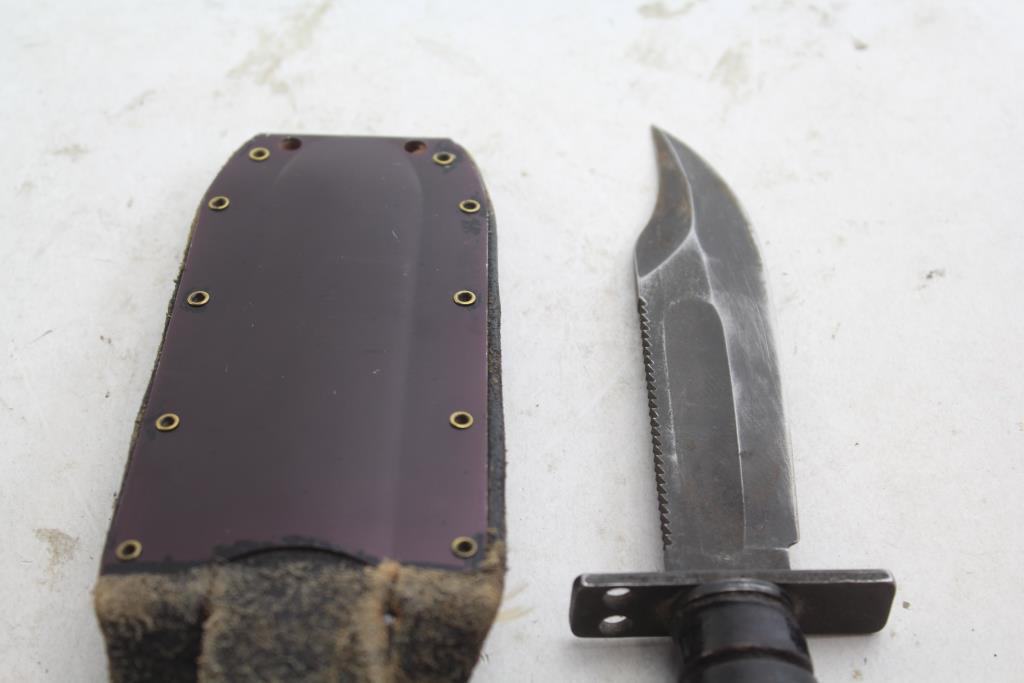 Vintage Camillus USAF Pilot's Survival Knife with Original