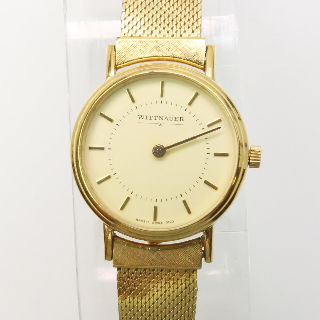 Wittnauer Watch Value >> Vintage Wittnauer Gold Filled Women S Dress Watch Property Room