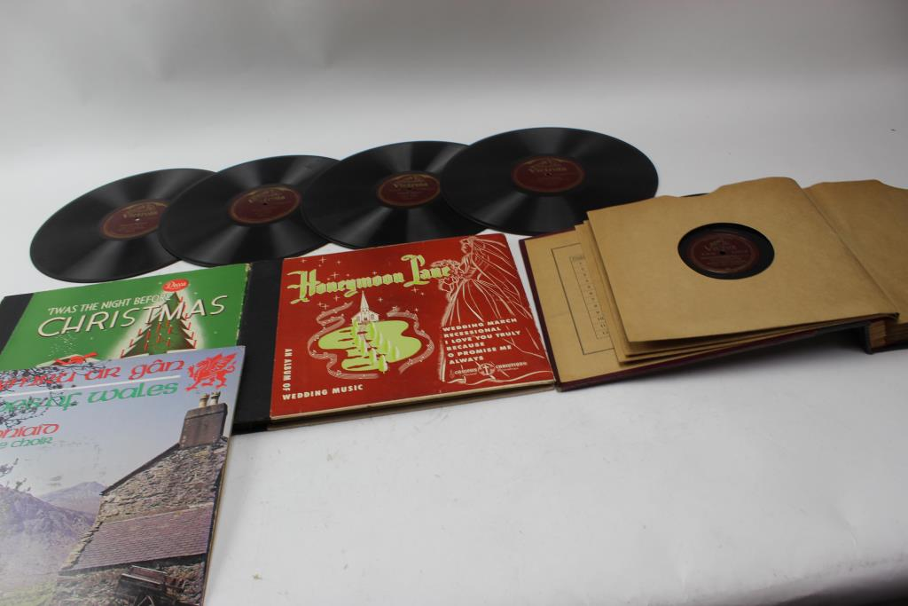 Image 1 Of 5 Vinyl Records 78 RPM
