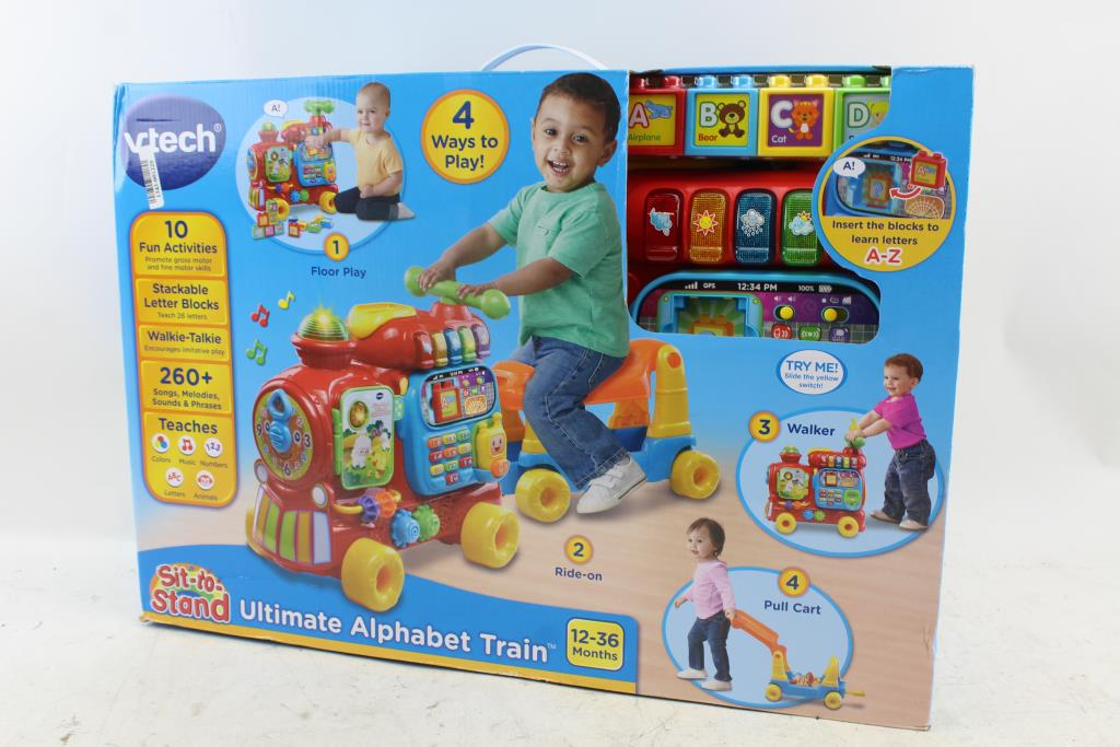 Vtech Sit To Stand Ultimate Alphabet Train Property Room