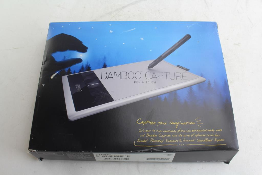 User manual wacom bamboo capture pen for ctl470/471 (silver.