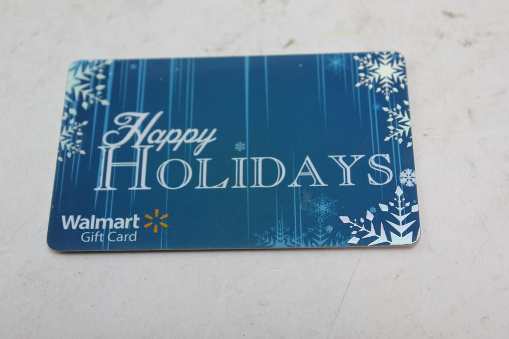 Walmart Gift Card Property Room