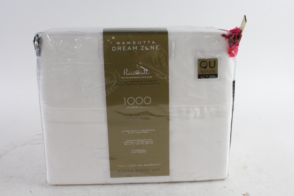 Wamsutta Dream Zone 100 Thread Count Queen Sheet Set Property Room