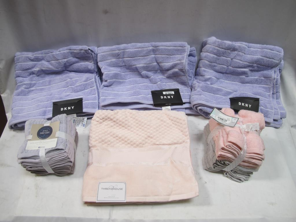 Wash Cloths And Towels Dkny Style Sanctuary More 5 Items Property Room