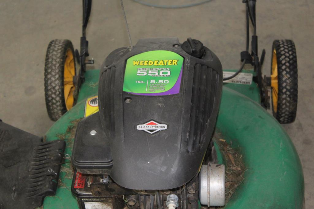 Weedeater 22 Quot Push Lawn Mower Property Room