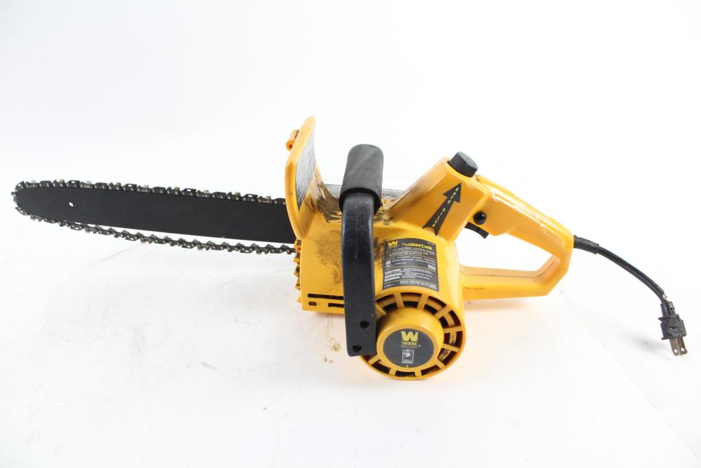 wen electric chain saw tyres2c rh tyres2c com Husqvarna Chainsaw Manual Worx Chainsaw Manual